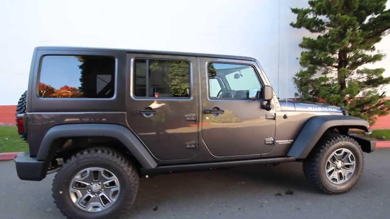 2014 jeep wrangler unlimited rubicon el168796 seattle bellevue youtube