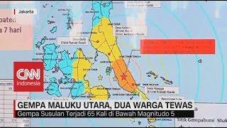 Gempa Maluku Utara, Dua Warga Tewas