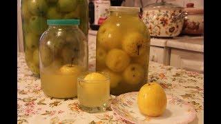 Квашеные яблоки с медом | Самый вкусный рецепт