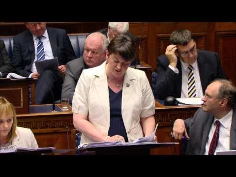 Question Time: Office of the First Minister and deputy First Minister Monday 22 June 2015