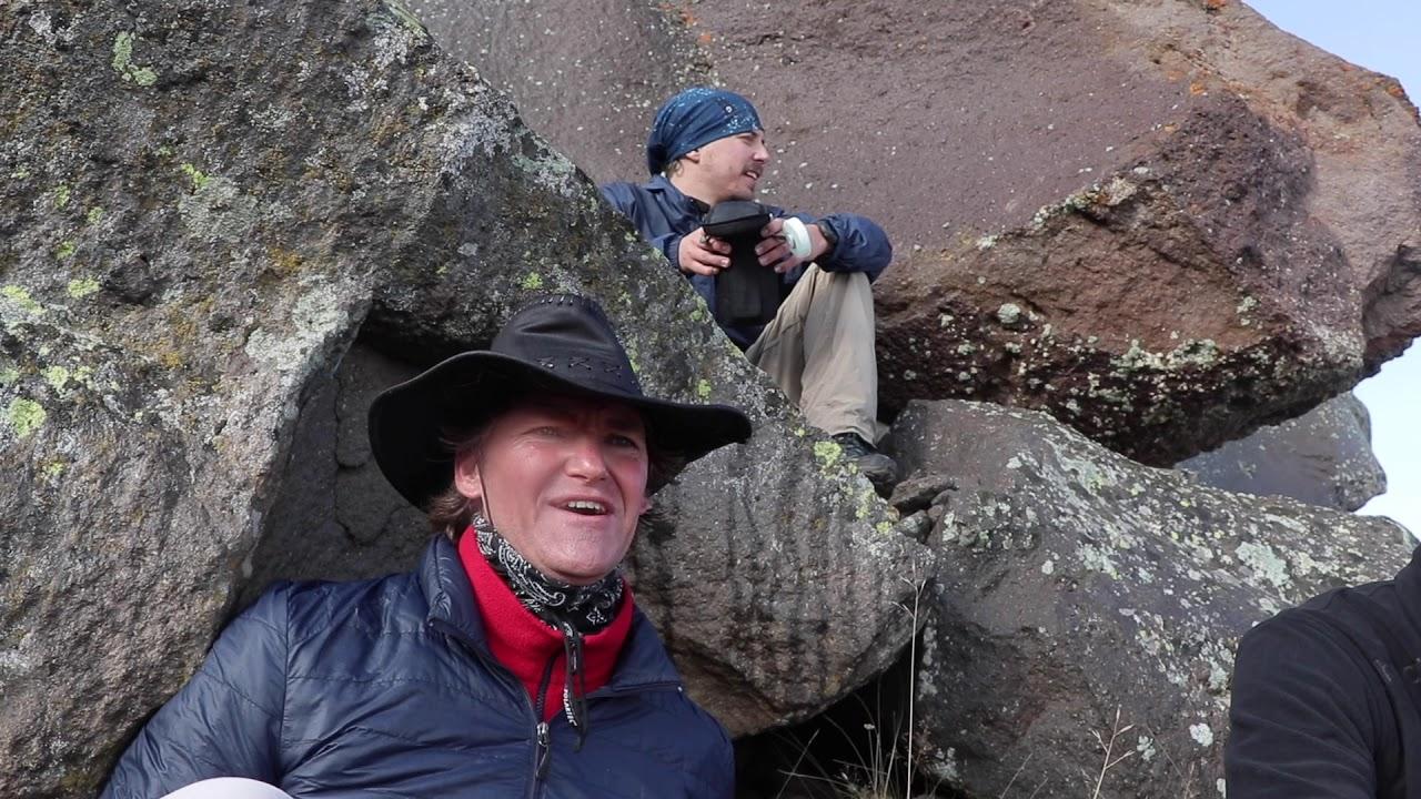 Download Climbing Mt Hasan Volcano in Cappadocia
