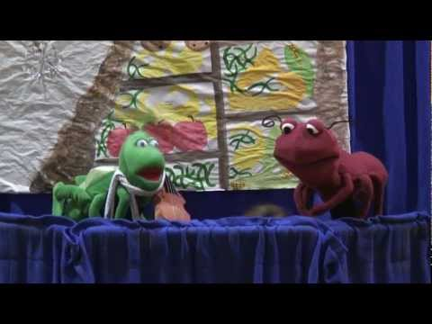 Ant and Grasshopper - Puppet Show