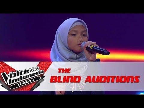 "Hamida ""Send My Love"" | The Blind Auditions | The Voice Kids Indonesia Season 2 GTV 2017"