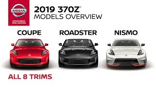 homepage tile video photo for All 2019 Nissan 370Z Models Explained