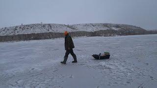 Первая Рыбалка 2021 Года Поехали за Судаком а Наловили Кучу Белой Рыбы Зимняя Рыбалка на Дону