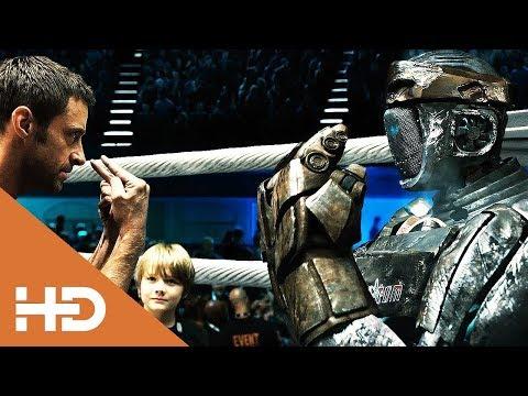АТОМ против ЗЕВСА.Бой Чемпионов.Живая сталь (2011)