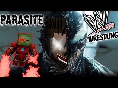 Monster School : IRON MAN VS VENOM AT WWE WRESTLING CHALLENGE - Minecraft Animation