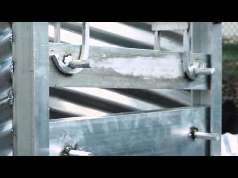 Flashboard Risers Aluminum Corrugated Pipe Custom Made
