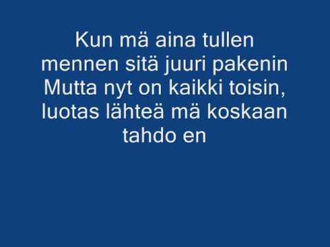 Oikeesti lyrics