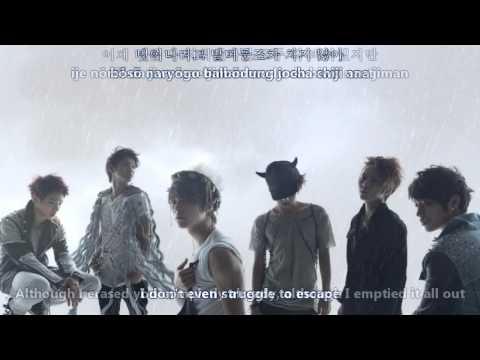 Beast - On Rainy Days [eng sub + romanization + hangul]