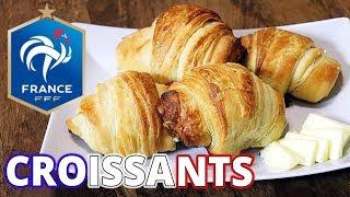 WORLD CUP 2018 Breakfast - Flaky, Crispy, Buttery French Croissants - France vs. Croatia