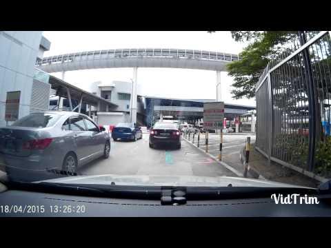 From Malaysia to Singapore thru Checkpoint