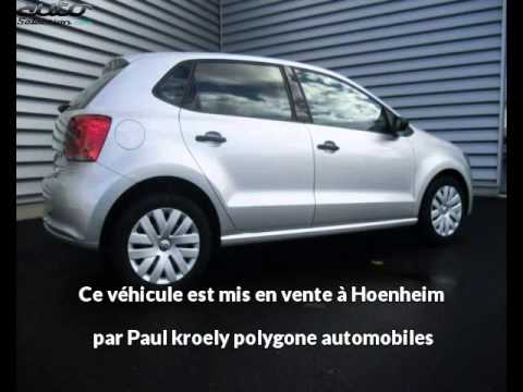 volkswagen polo occasion visible hoenheim pr sent e par paul kroely polygone automobiles youtube. Black Bedroom Furniture Sets. Home Design Ideas