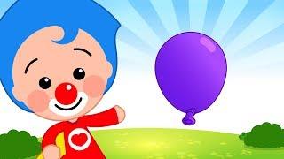 Tengo Un Globito Violeta | Plim Plim | El Reino Infantil
