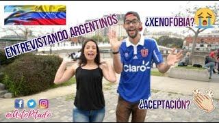 Opinión de argentinos sobre la migración venezolana   ANTO PITADO
