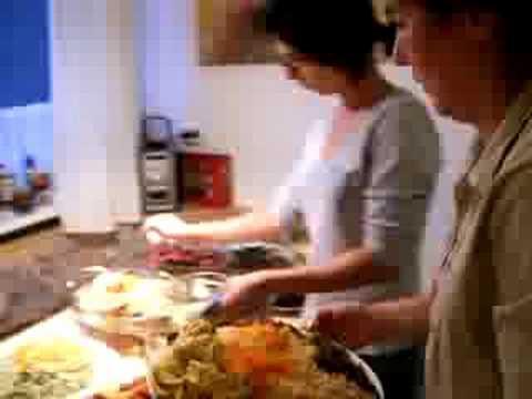 persische Essen mit Nassrin