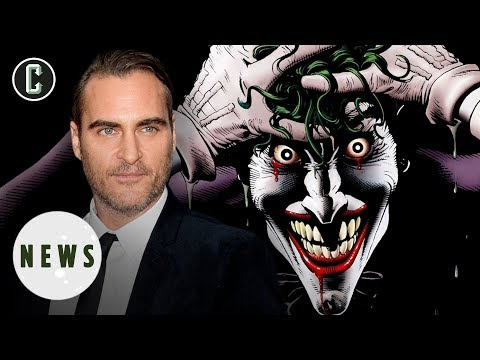 Joaquin Phoenix In Talks to Play The Joker in DC Standalone Movie