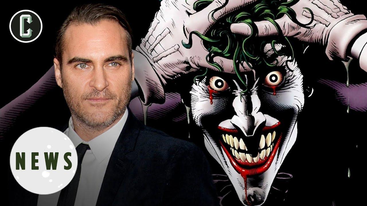 Joaquin Phoenix 'to play The Joker' in Martin Scorsese-produced Batman prequel