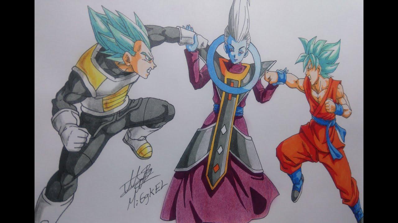 Fotos De Vegeta Color Azul: Wiss Usa El Migatte No Gokui Vs Goku Y Vegeta SSaiyajin