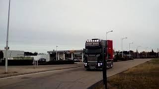 Magnifique Scania des transport Pf Trucks