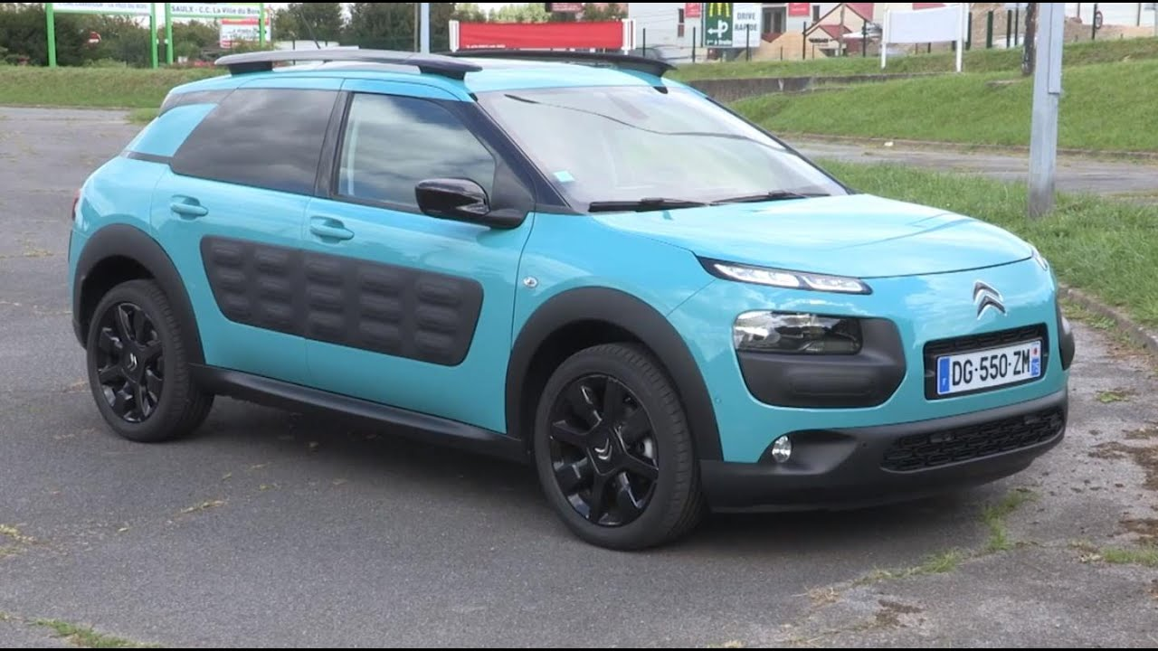 essai citroen c4 cactus 1 6 bluehdi 100ch shine youtube. Black Bedroom Furniture Sets. Home Design Ideas
