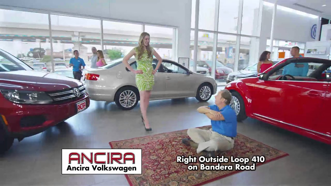July 2014 Commercial for Ancira VW San Antonio, TX. - YouTube