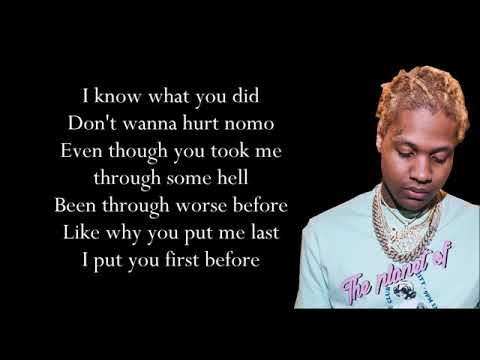 Lil Durk x Hurt Before (Lyrics)