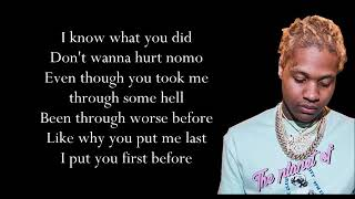 Download Lil Durk x Hurt Before (Lyrics) Mp3 and Videos