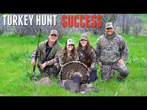 FIRST TURKEY DOWN! California Public Land Turkey Hunt