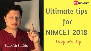 Ultimate tips for NIMCET 2018 MCA exam