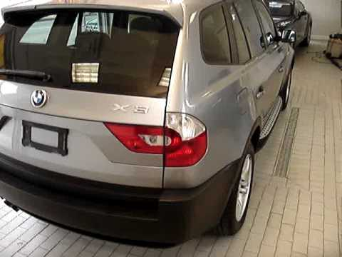 2005 Bmw X3 Panoramic Moonroof Running Boards Roof Rack Youtube