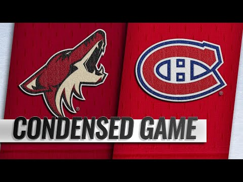 01/23/19 Condensed Game: Coyotes @ Canadiens