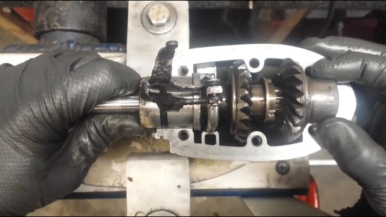 How to Rebuild  Reseal a Johnson 95 HP Lower Unit  Part 2  YouTube