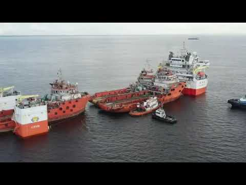 Part 2 - Relocation of three Offshore Support Vessels