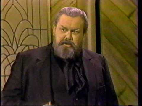 John Candy as Orson Welles on the Billy Crystal Comedy Hour (1982)