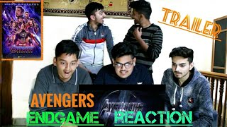 #Avengers #marvel Avengers:Endgame Official Trailer 2 Indian reaction  (trailer reaction by indians)