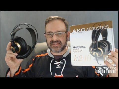 AKG K240 Semi-Open Studio Monitoring Headphones Review