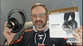 AKG K240 Semi-Open Studio Monitoring Headphones Review
