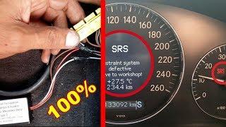 Installing the SRS Emulator Mercedes W211 / Removed Error SRS Restraint System Defective on Mercedes