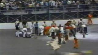 One Of The Worst Indy 500 Crashes Ever Caught On Tape