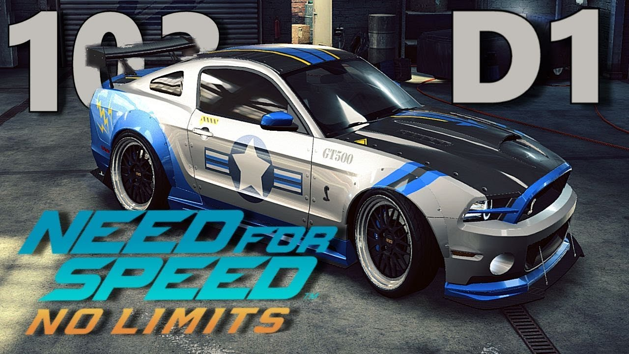 Need For Speed No Limits Day 1 Ford Shelby Gt500 Guide Youtube