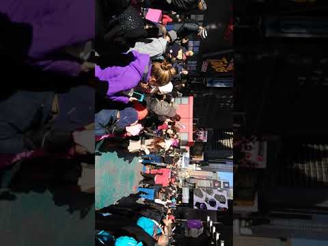 Awesome Times Square Street Show Hustle