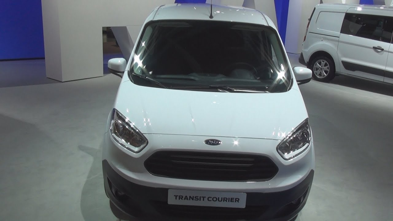 ford transit courier panel van exterior and interior youtube. Black Bedroom Furniture Sets. Home Design Ideas