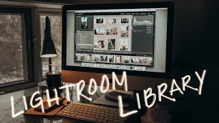 How to ORGANIZE your LIGHTROOM LIBRARY with an external hard drive