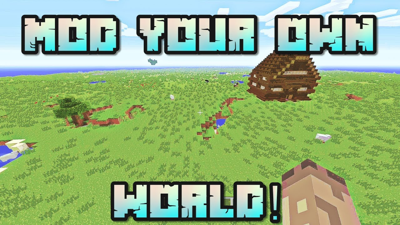 Minecraft: Mod Your Own World Console Map W/Download