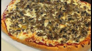 Amy's Sausage And Mushroom Pizza
