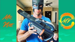 TRY NOT TO LAUGH Watching BatDad Vine 2020 - Funny BatDad Instagram Videos