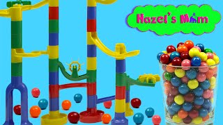 Marble Run! | Learn colors | Educational videos for kids and toddlers