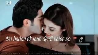 Khuda bhi jab tumhe mere pass dekhta hoga lyrics