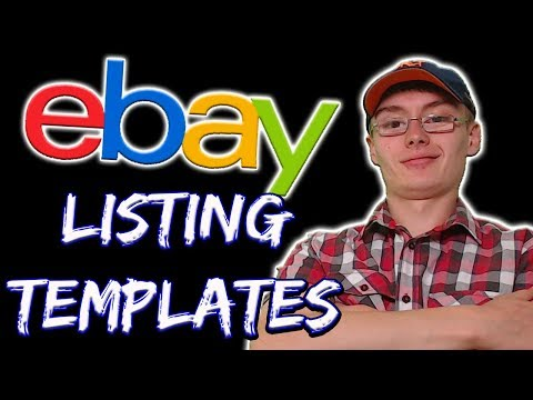 How To Create Listing Templates On EBay